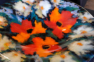 020_Floral Glass Bowl.jpg