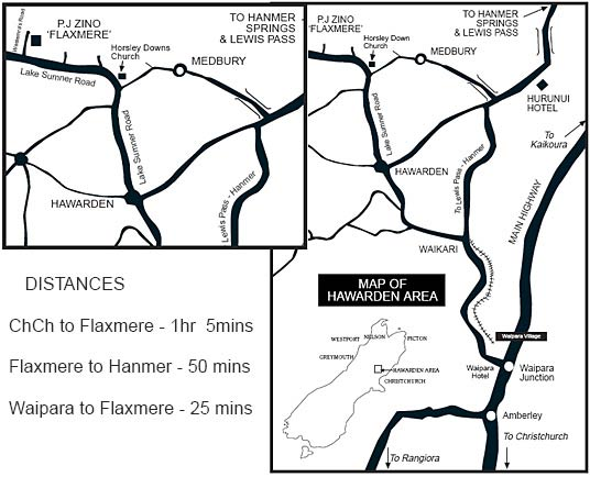 Map to Flaxmere